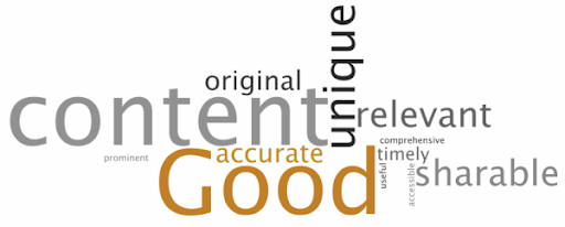 Your content has to be Good to read