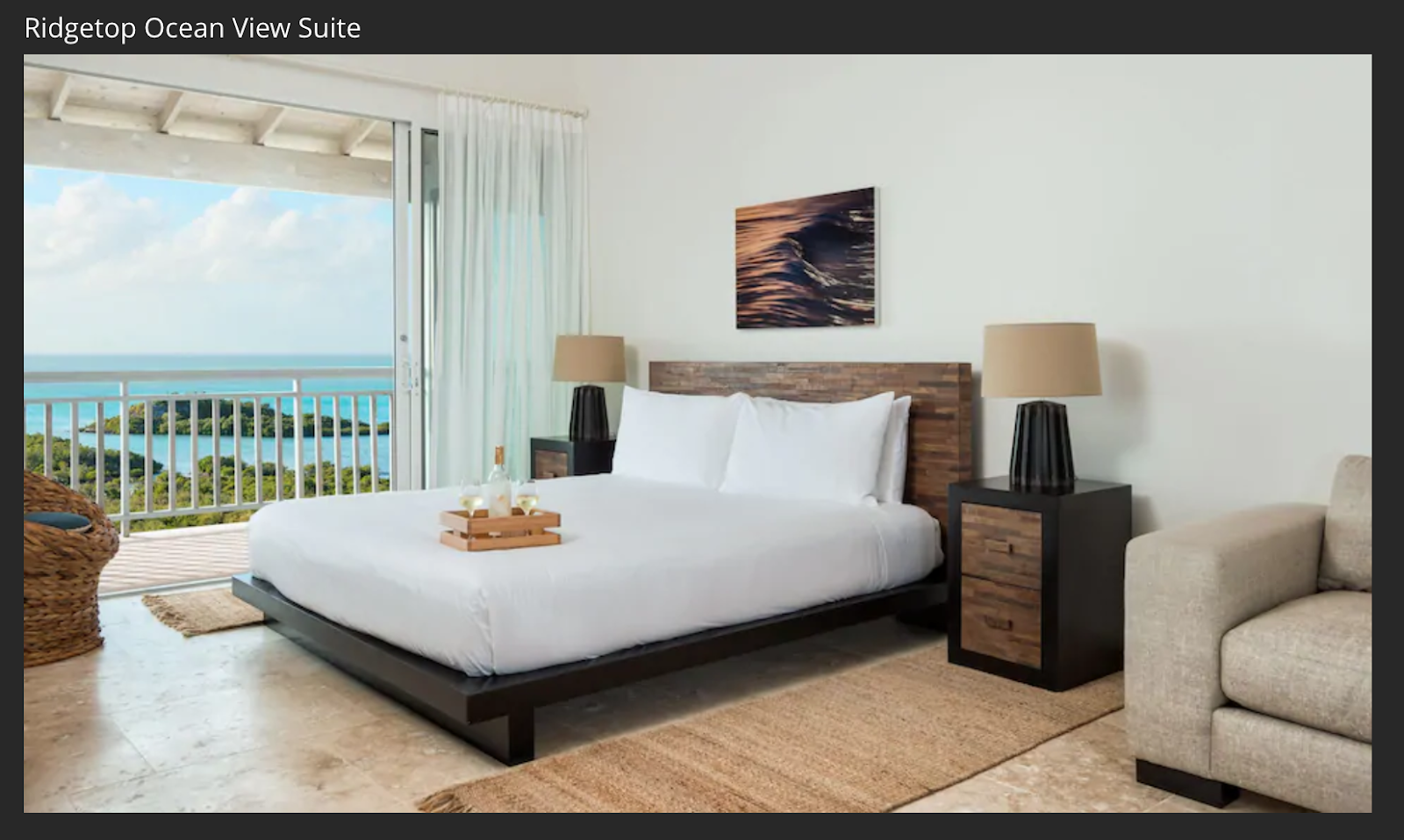 Sailrock Ridgetop Ocean view suite room