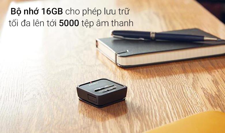 Máy ghi âm Sony ICD TX800/BCE (Đen) | Bộ nhớ 16GB