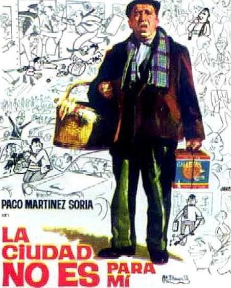 La ciudad no es para mí (1966, Pedro Lazaga)