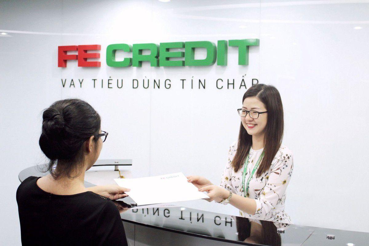 Mua hàng trả góp tại Fe Credit