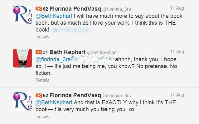 Twitter conversation 11Aug2013