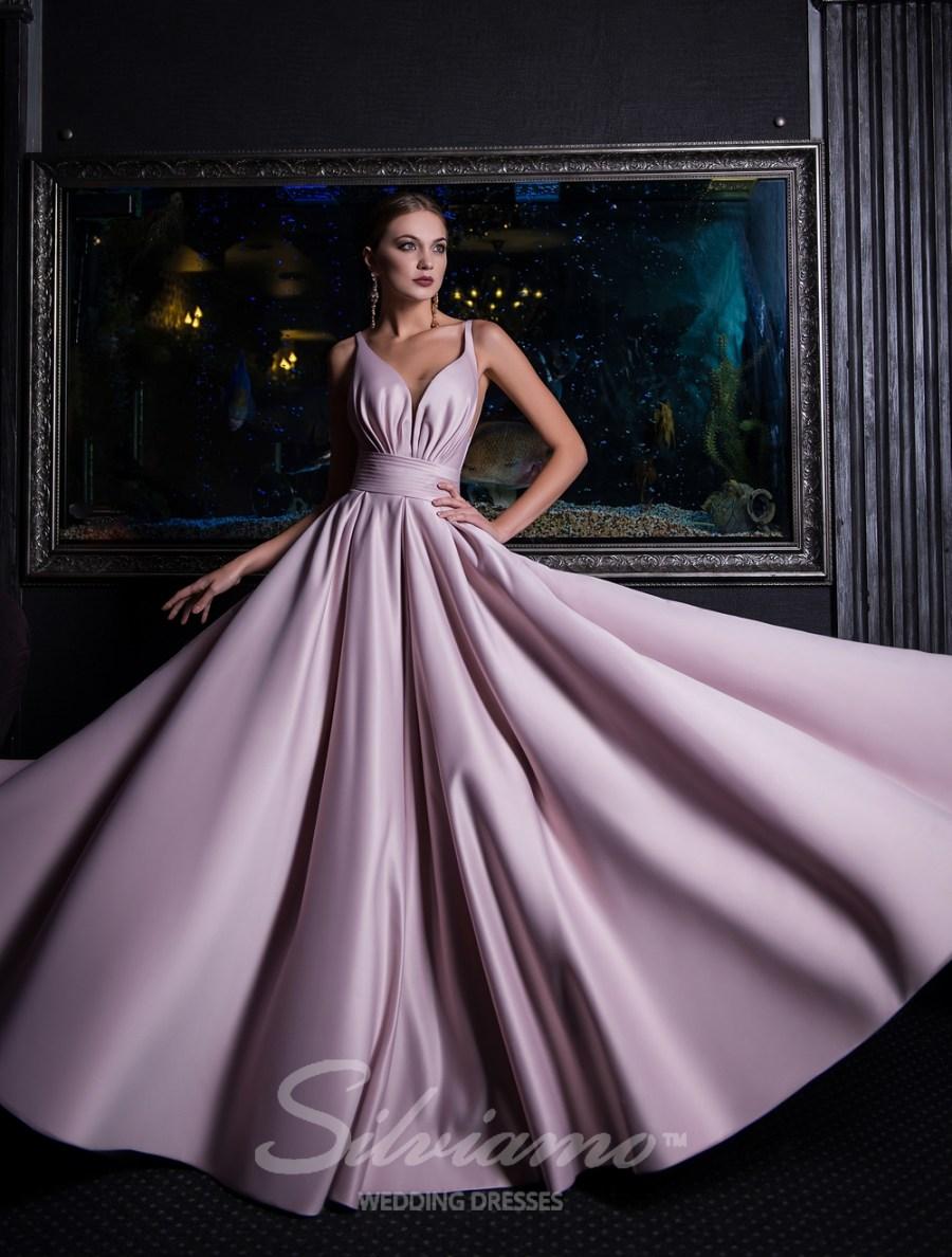 Вечерние платья стиля «ампир»
