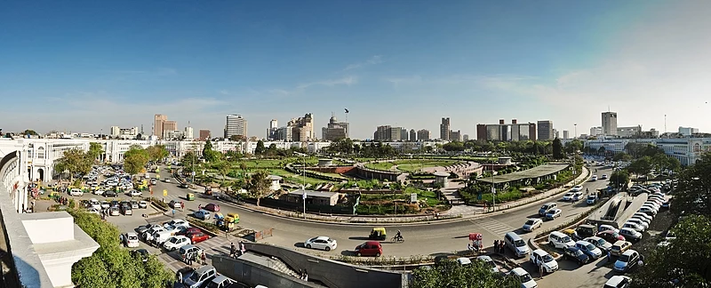 Cityscape of New Delhi