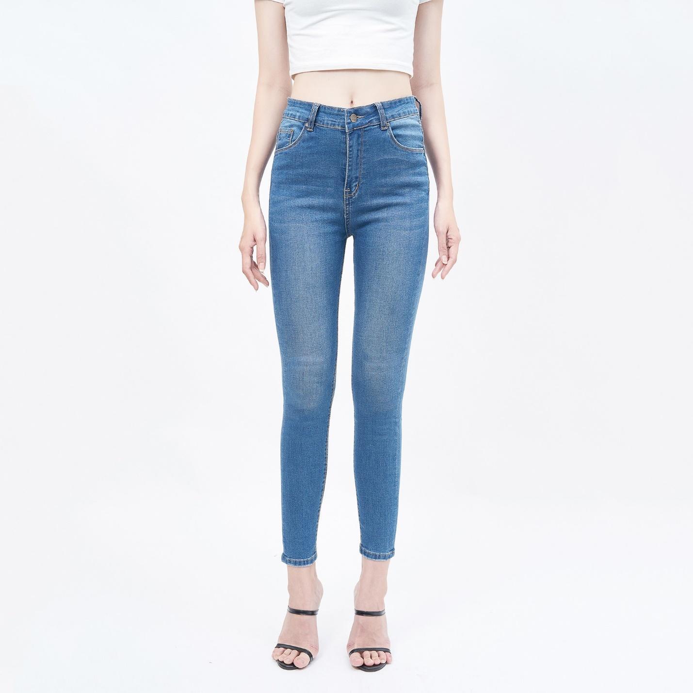 Mặt hàng quần jean nữ lưng cao chất lượng