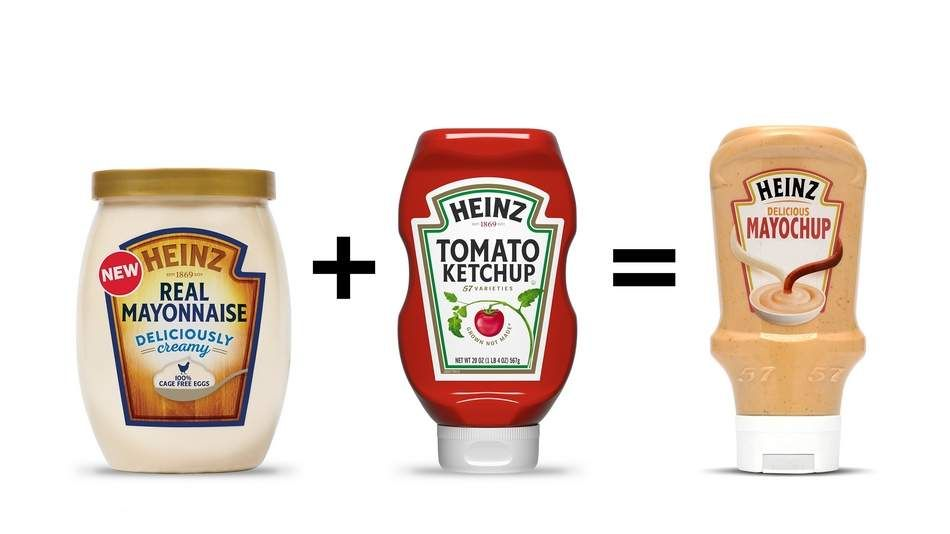 Heiz is leaving the fate of a new product, Maychup, a mixture of mayonnaise  and ketchup, in the hands of Twitter voters. [Busines… | Ketchup,  Mayonnaise, Condiments