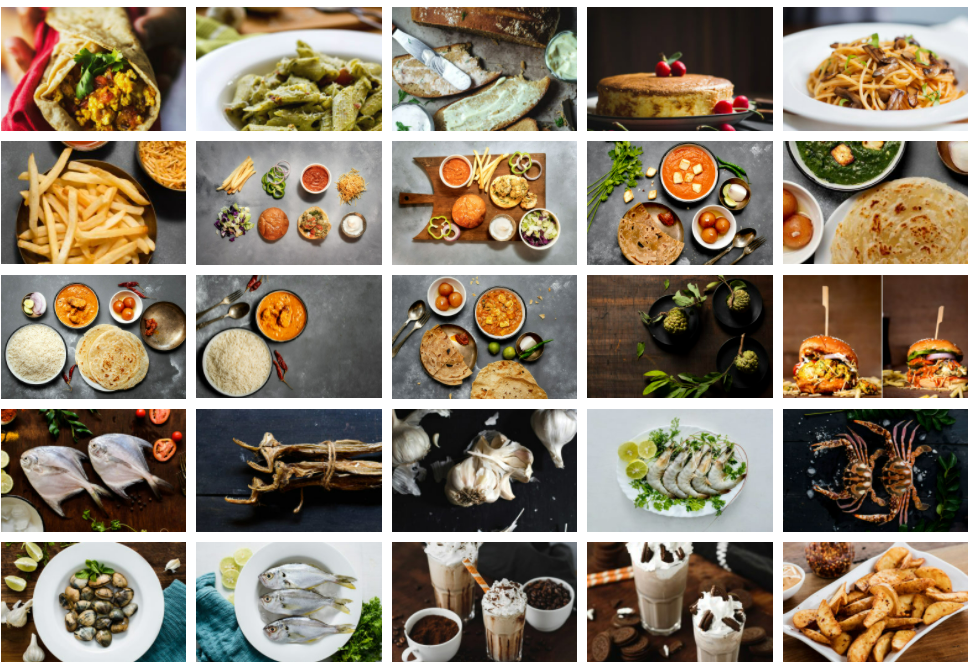 A collage of food  Description automatically generated with low confidence
