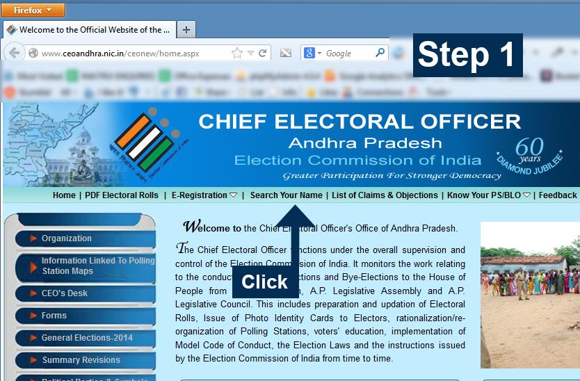 CEO Andhra Pradesh - Step 1