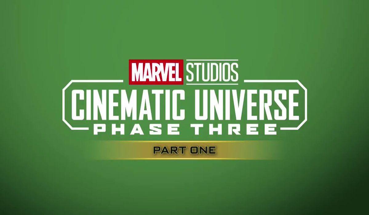 Marvel studios cinematic universe phase three part 1