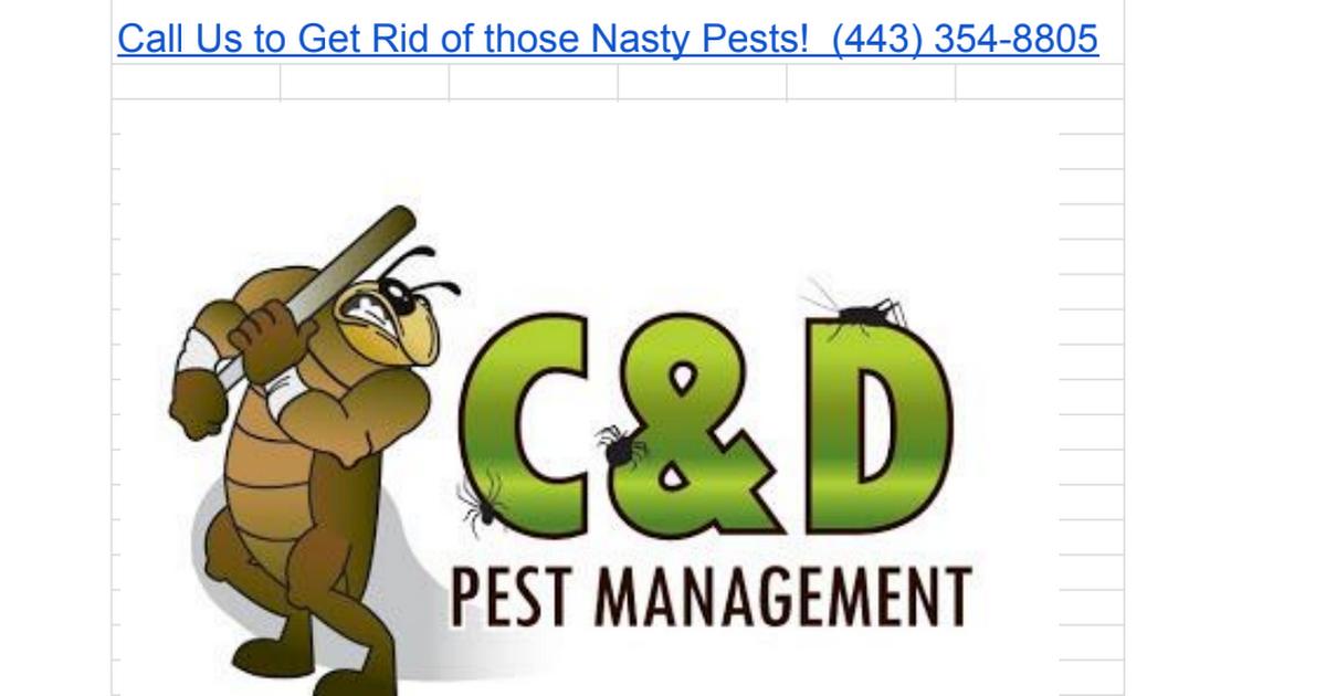 Thumbnail for Pest Control Services Glen Burnie MD (443) 354-8805 C& D Pest Management