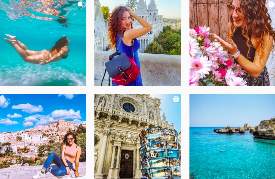 Ilaria Rizzo | Instagram Travel Posts | Influencer from Italy