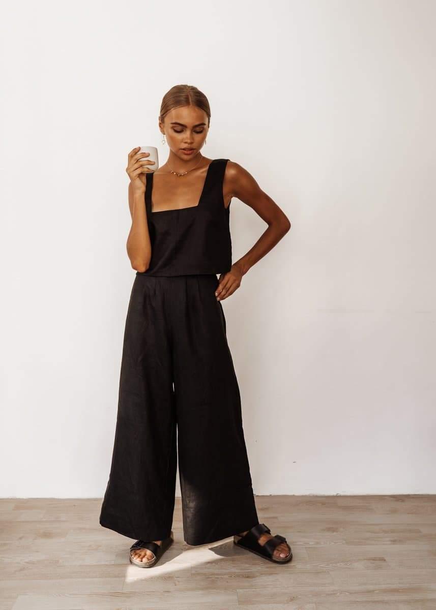 Monaco Pants in Black