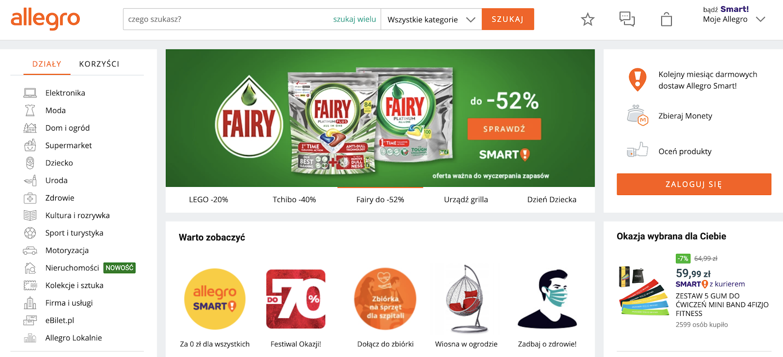 Allegro - Golang ecommerce app