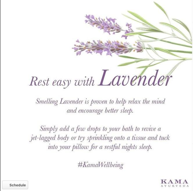 lavender essential oil for sleep