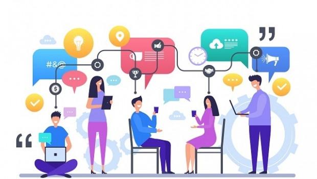 Tip làm việc tại nhà hiệu quả: Giữ giao tiếp với đồng nghiệp