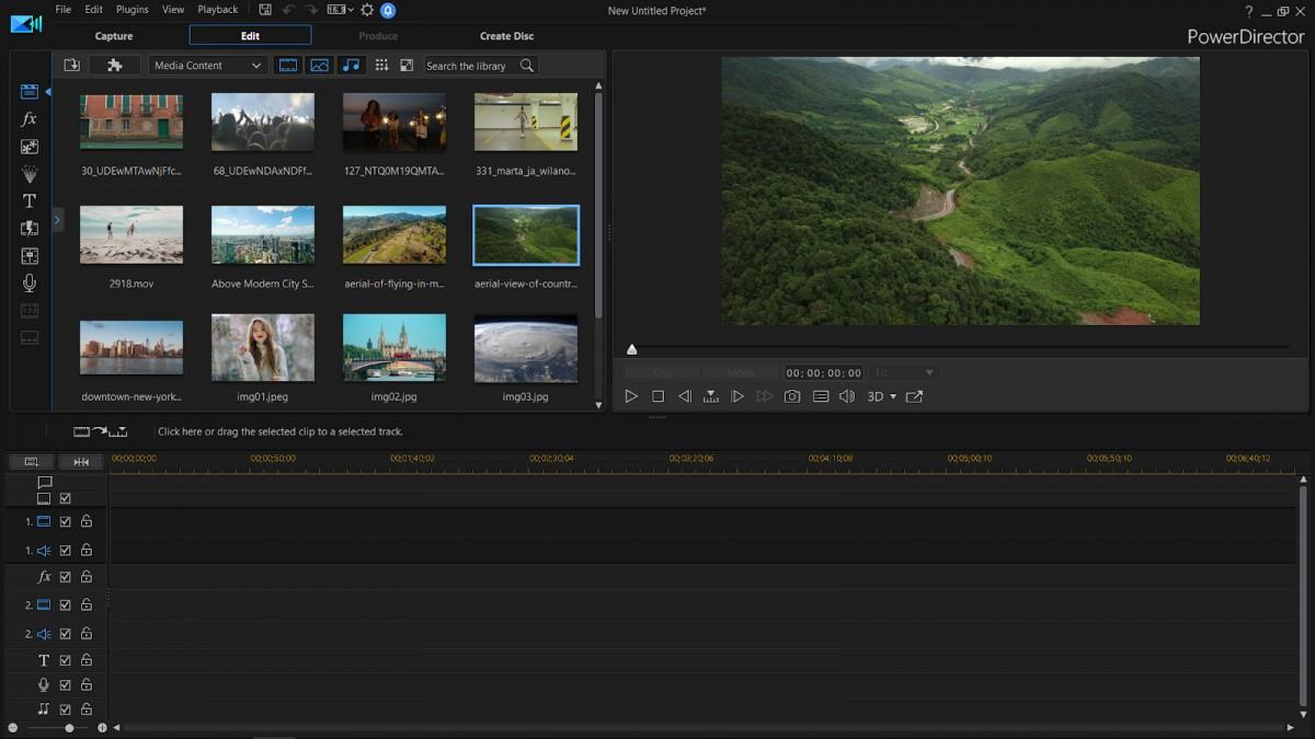Phần mềm tạo hiệu ứng video CyberLink Power Director