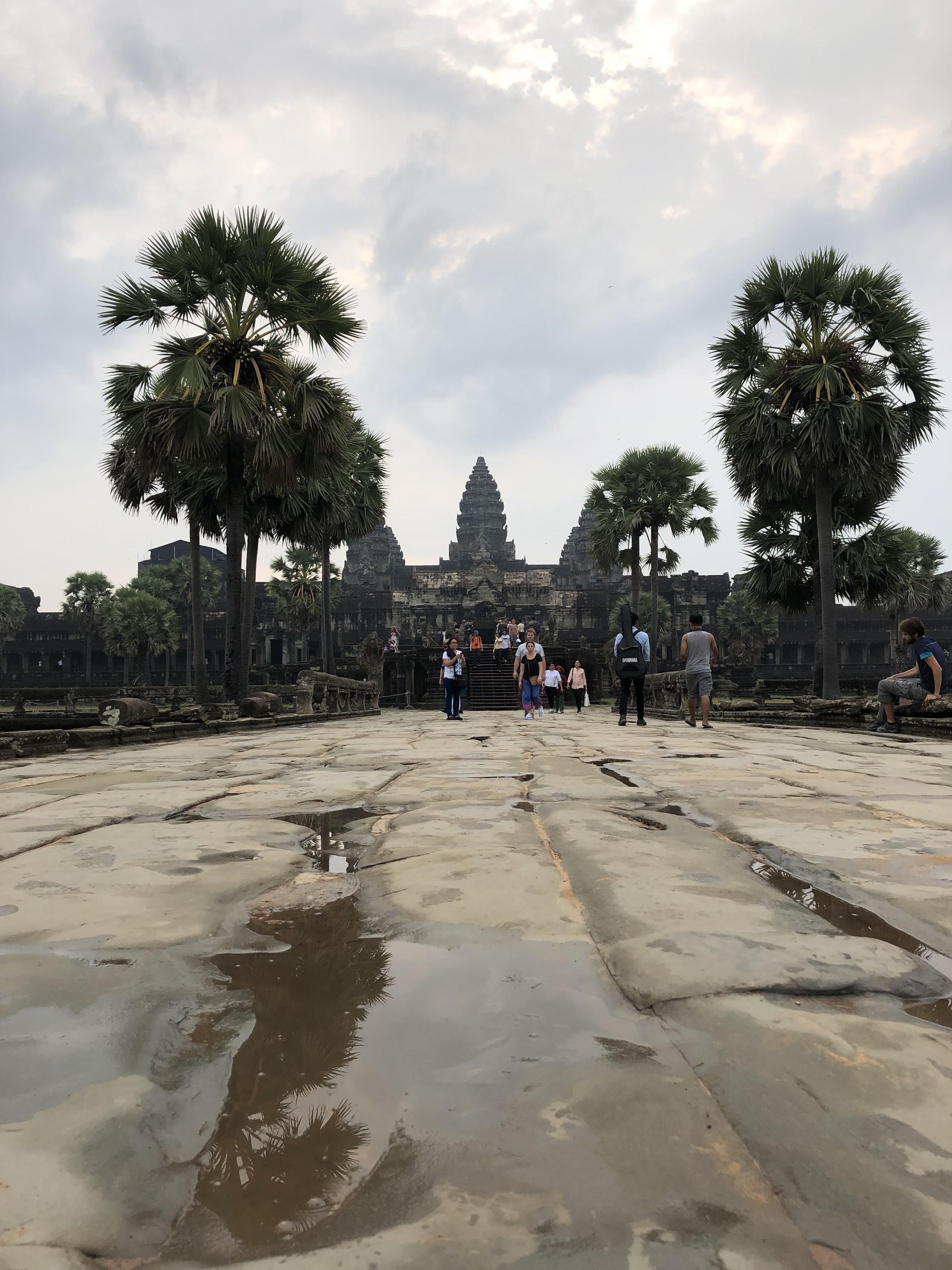 カンボジア シュムリアッブ アンコールワット