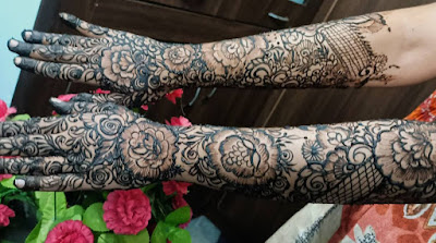 New Khafif Mehndi Designs Weddings 2021