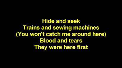 Imogen Heap Hide And Seek Lyrics
