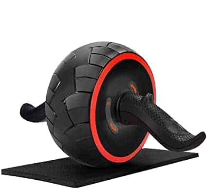 Ab Roller Wheel Abdominal Exercise Equipment with KneePad