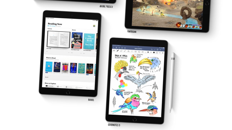 iPad Gen 9 2021 với thiết kế mỏng nhẹ