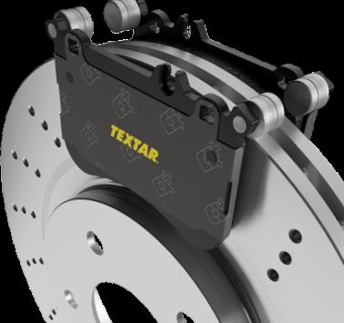 Тормозной диск и колодки Текстар