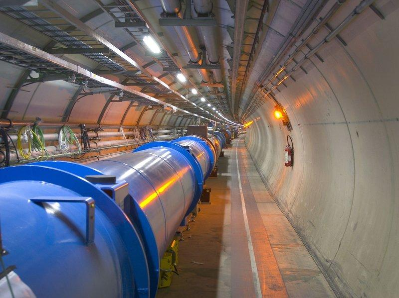 A particle accelerator at CERN