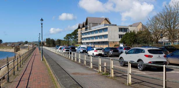 Artist impression of the proposed redevelopment of the North Devon Civic Centre
