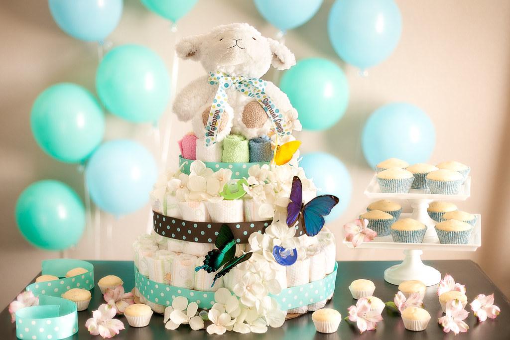Gâteau original pour une Baby Shower