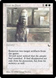 Image result for dust to dust mtg