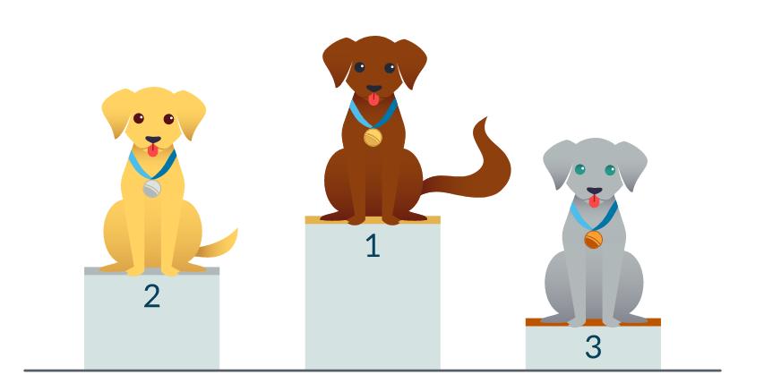Ранжирование URL в результатах поиска на примере собачек