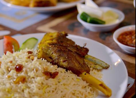Abunawas Restaurant foods
