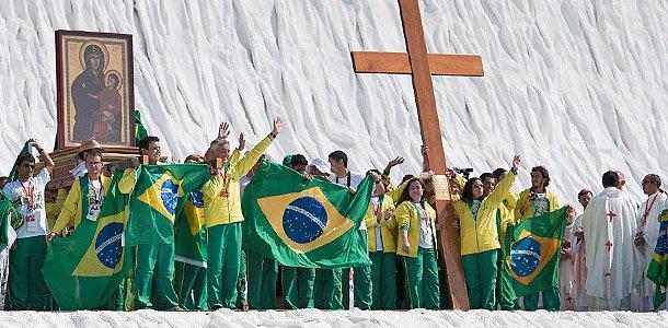 Cross Icon Brazilian pilgrims