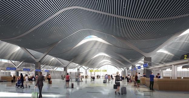 Kết quả hình ảnh cho nhà ga hành khách sân bay cam ranh