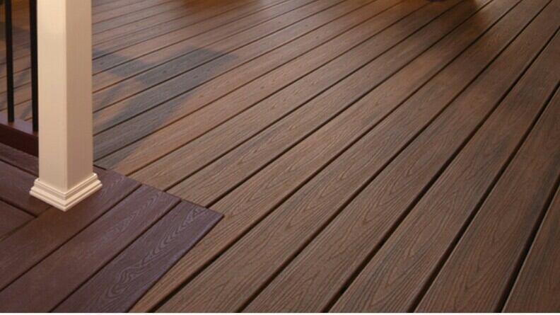using decking as cladding