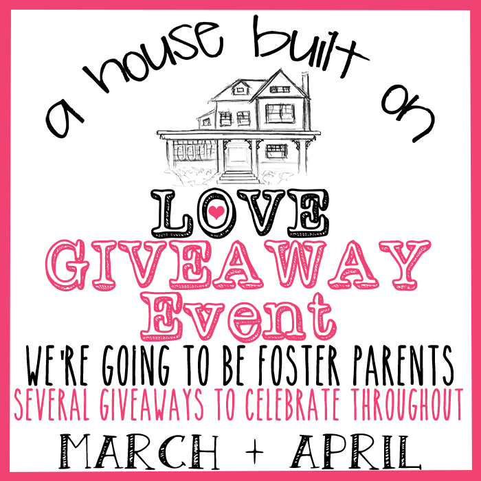 Sign up for the A House Built on Love Blogger Opp. Event starts 3/2014