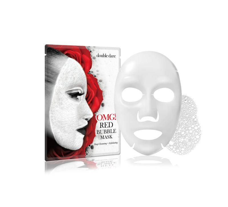 Recenze Riano: Bublinková maska OMG! od Double Dare