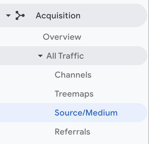 Acquisition Source/ Medium GA
