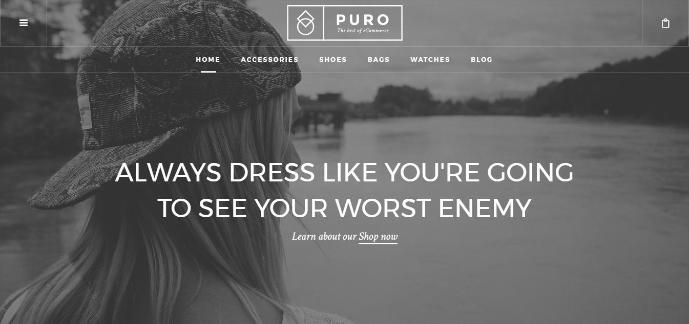 Puro -Magento fashion theme