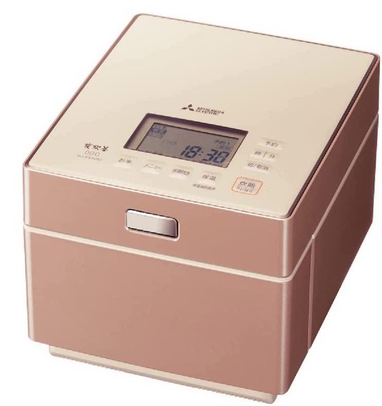 三菱電機 日本製 蒸気レスIH炊飯器