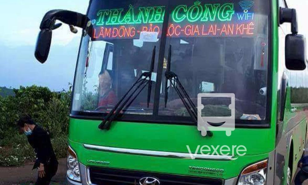 Nội thất xe Thành Công đi Lâm Đồng từ Kon Tum