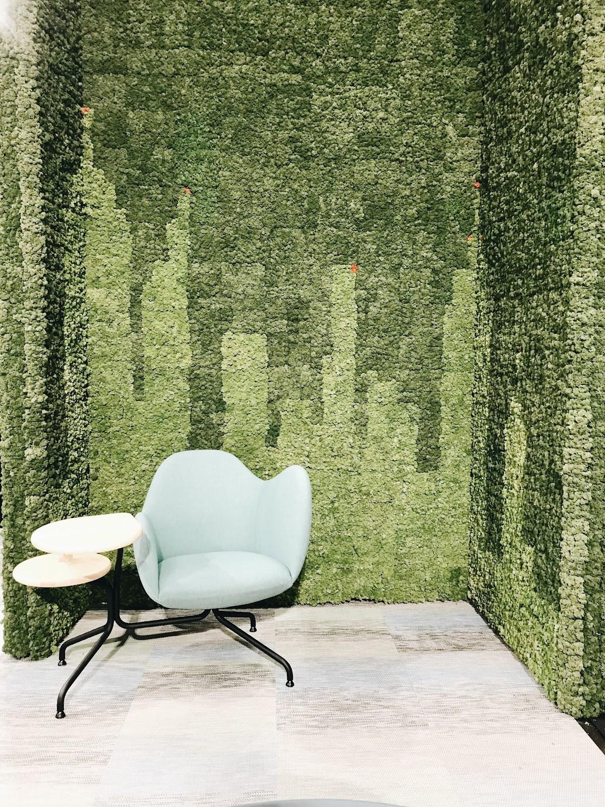 ICFF international contemporary design furniture fair texture cityscape