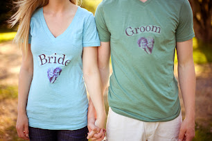 diy brid groom shirst