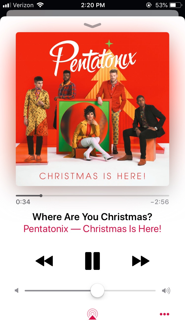 Where Are You Christmas is painfully beautiful. Mitch in Pentatonix kills the vocals and brings an entirely new dimension to the song.
