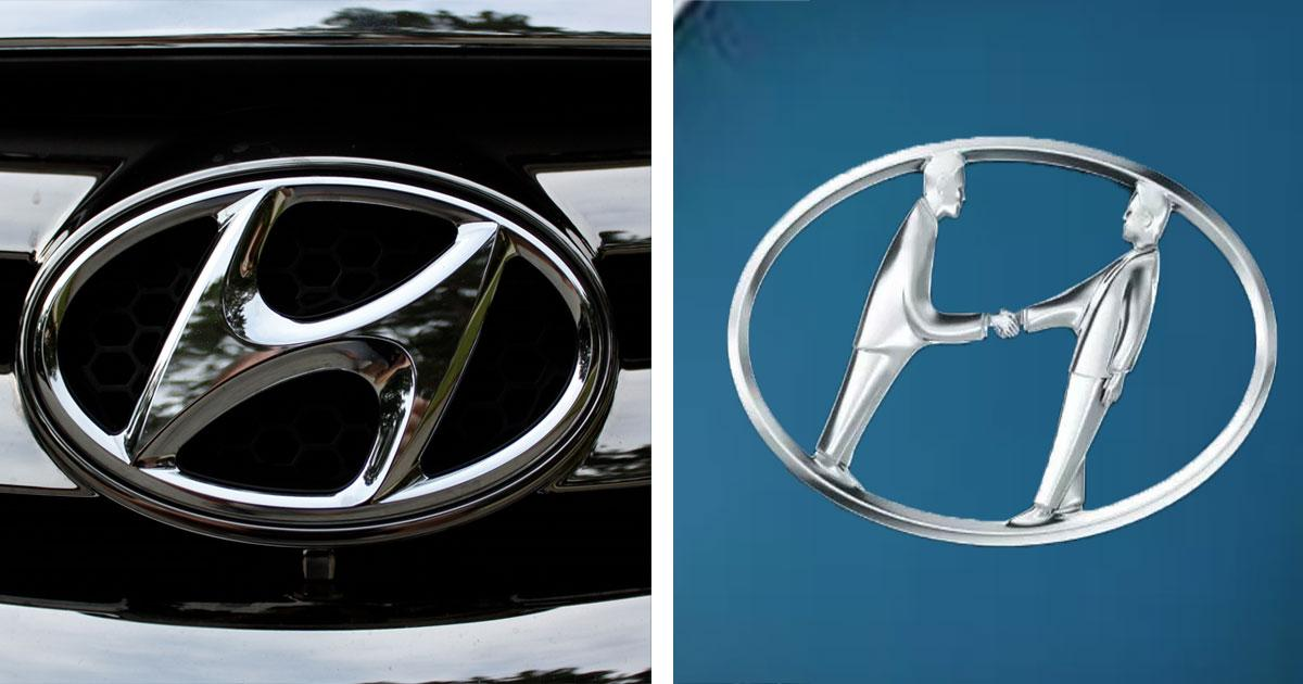 Image result for hyundai logo secret