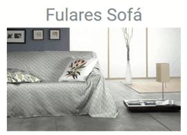 FULARES PARA SOFAS