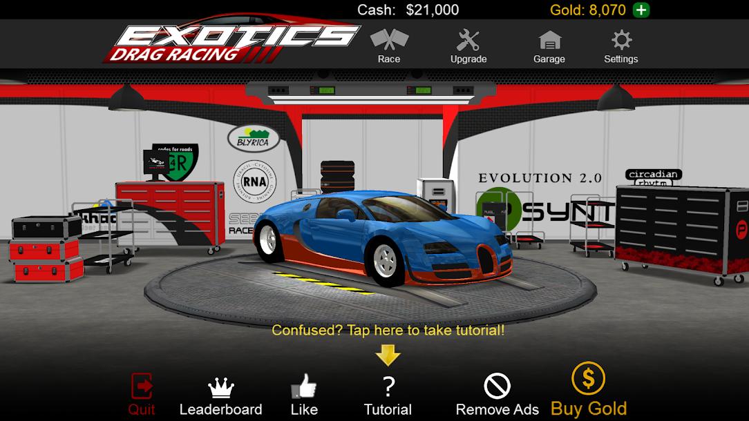 Pro Series Drag Racing Cheats