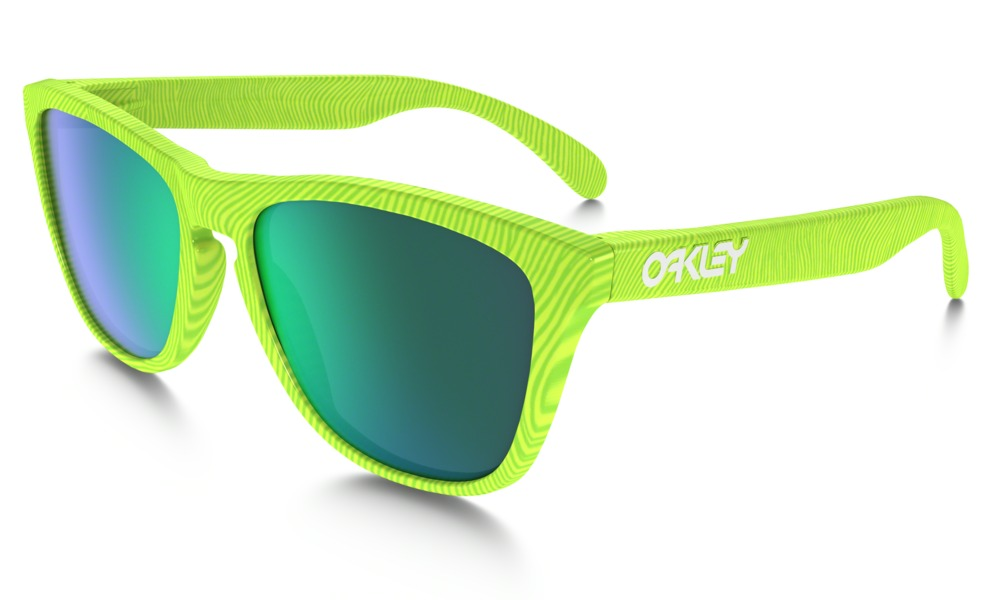 Oakley Frogskins Fingerprint Collection  - RETINA BURN / JADE IRIDIUM