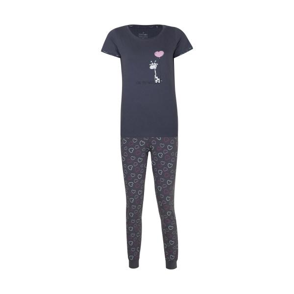 ست تی شرت و شلوار زنانه ناربن مدل 1521345-94