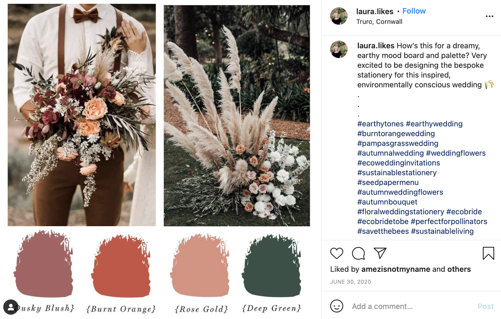 earthy color palette from Laura Likes